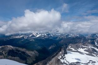 Summit views.